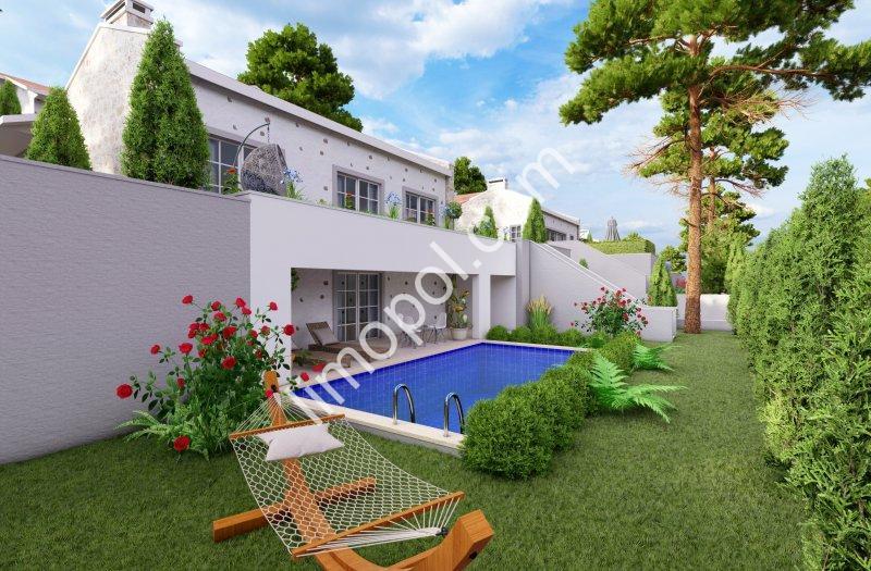 Akarca Mahallesinde 3+1 ve 4+1   9 adet Lüks Villa