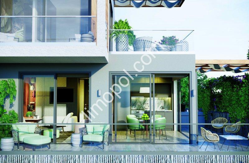 Bodrum Adabükü'nde Projeden Satılık 194 adet 4+1 Lüks Villalar